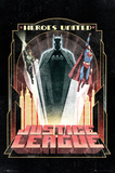 DC Comics Batman - Art Deco Poster