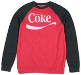 Raglan: Coca Cola - Classic Swoosh Color Block Raglans