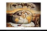 Geopoliticus Child With Border Kuvia tekijänä Salvador Dalí