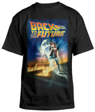 Back To The Future - BTF Poster T-shirts