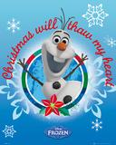 Frozen - Olaf Christmas Prints