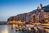 Porto Venere, Cinque Terre, Liguria, Italy Fotografisk tryk af Cultura Travel/WALTER ZERLA