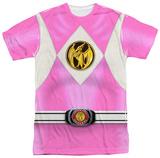 Power Rangers - Pink Ranger Emblem Sublimated