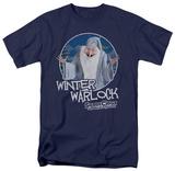 Santa Claus Is Comin To Town - Warlock T-Shirt