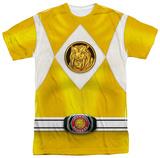 Power Rangers - Yellow Ranger Emblem Sublimated