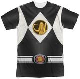Power Rangers - Black Ranger Uniform Sublimated