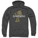 Hoodie: Garfield - Retro Garf Pullover Hoodie