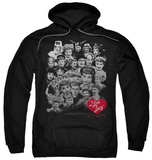 Hoodie: I Love Lucy - 60 Years Of Fun Pullover Hoodie