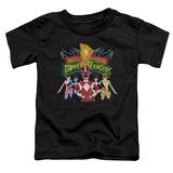 Toddler: Power Rangers - Rangers Unite T-Shirt