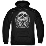 Hoodie: Sons Of Anarchy - Soa Club Pullover Hoodie