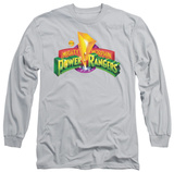 Long Sleeve: Power Rangers - MMPR Logo Long Sleeves