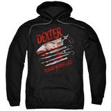 Hoodie: Dexter - Blood Never Lies Pullover Hoodie