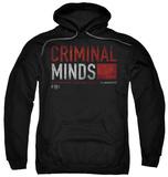 Hoodie: Criminal Minds - Title Card Pullover Hoodie