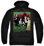 Hoodie: The Munsters - Normal Family Pullover Hoodie