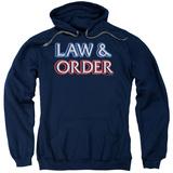 Hoodie: Law & Order - Logo Pullover Hoodie