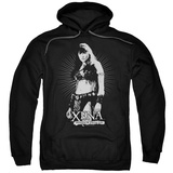 Hoodie: Xena: Warrior Princess - Don't Mess With Me Pullover Hoodie