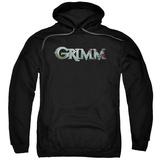 Hoodie: Grimm - Bloody Logo Pullover Hoodie