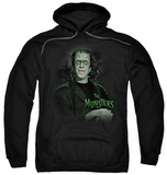 Hoodie: The Munsters - Man Of The House Pullover Hoodie