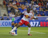 Aug 23, 2014 - MLS: Montreal Impact vs New York Red Bulls - Bradley Wright-Phillips, Matteo Ferrari Photo by Jim O'Connor