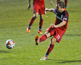 2014 MLS U.S. Open Cup: Jun 18, Pittsburgh Riverhounds vs Chicago Fire - Harrison Shipp Foto af Matt Marton