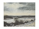 Midwinter Sunset on the Roman Road, 1997 Giclee Print by Margaret Hartnett