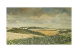 Hilltop Farm, North Stoke, 1995 Giclee Print by Margaret Hartnett
