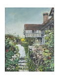 Great Dixter: the Long Border, 2005 Giclee Print by Margaret Hartnett