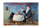 Celebrating Christmas Giclée-vedos tekijänä Margaret Loxton
