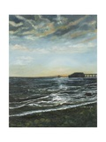 Brighton Pier: Sunset, 1996 Giclee Print by Margaret Hartnett