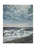 Bracklesham Bay: Evening, 1994 Giclee Print by Margaret Hartnett