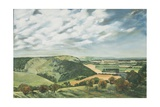 Devil's Dyke Poynings, 1989 Giclee Print by Margaret Hartnett