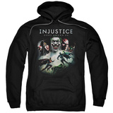 Hoodie: Injustice Gods Among Us - Key Art Pullover Hoodie