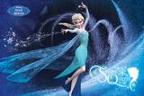 Frozen - Snow Queen French Langauge アートポスター