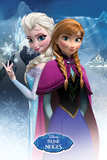 Frozen - Anna & Elsa French Language Print