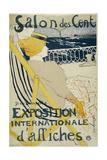 Salon Des Cent Lámina giclée por Henri de Toulouse-Lautrec