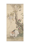 "Peinture ""Chaleur De Printemps"" Giclée-tryk af Kawabata Gyokushô"