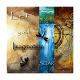 Let Your Imagination Soar Pósters por Megan Aroon Duncanson