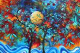 Lovers Moon Prints by Megan Aroon Duncanson