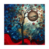 Abstract Bird Cat Posters by Megan Aroon Duncanson