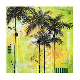Summer Time In The Tropics Prints by Megan Aroon Duncanson