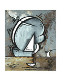 Silver Sea I Posters by Megan Aroon Duncanson
