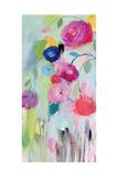 Artist's Bouquet Panel 1 Premium Giclee Print by Carrie Schmitt