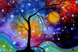 Winter Sparkle Poster von Megan Aroon Duncanson