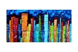 City Nights II Poster by Megan Aroon Duncanson