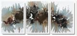 Asian Mist Canvas Set by Natasha Barnes
