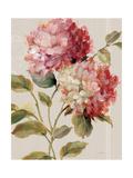 Harmonious Hydrangeas Linen Posters por Lisa Audit