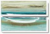 Canoe II Stretched Canvas Print by Heather Mcalpine