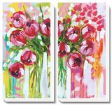 Razzle Dazzle Tulips Posters by Amanda J. Brooks