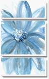Water Petals Canvas Set by Rebecca Meyers
