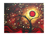 Abstract Landscape Glowing Orb Giclée-Premiumdruck von Megan Aroon Duncanson